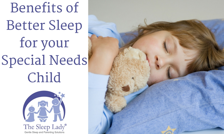 4 Surprising Benefits of Better Sleep for your Special Needs Child