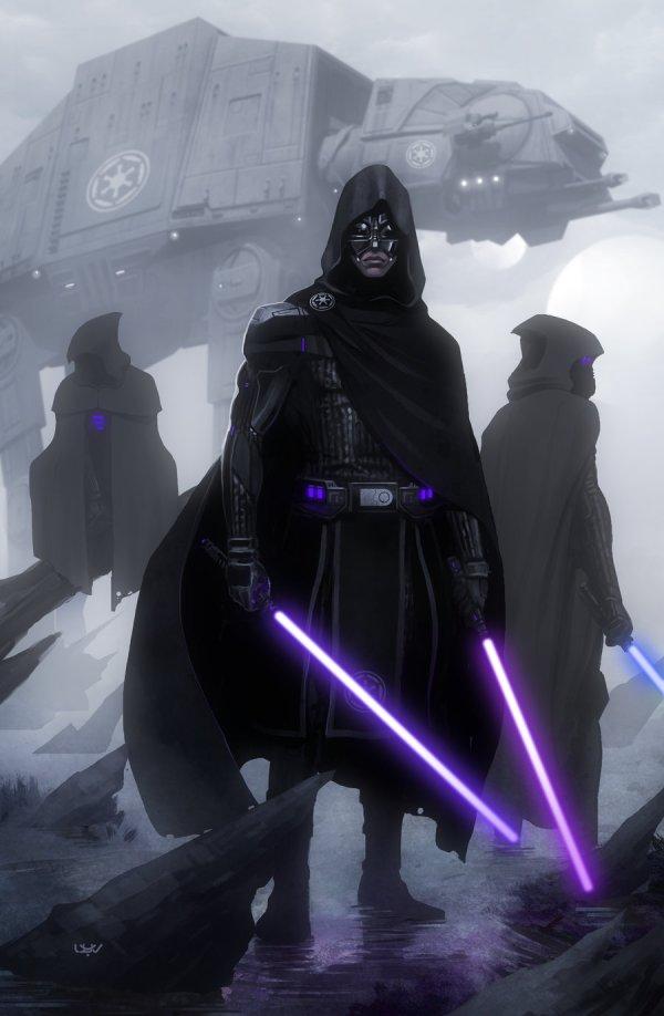 Jedi Hunter Episode Vii Concept Art Idea Yvan Quinet
