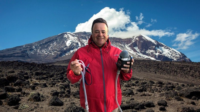 Climbing Mt Kilimanjaro with my CPAP machine