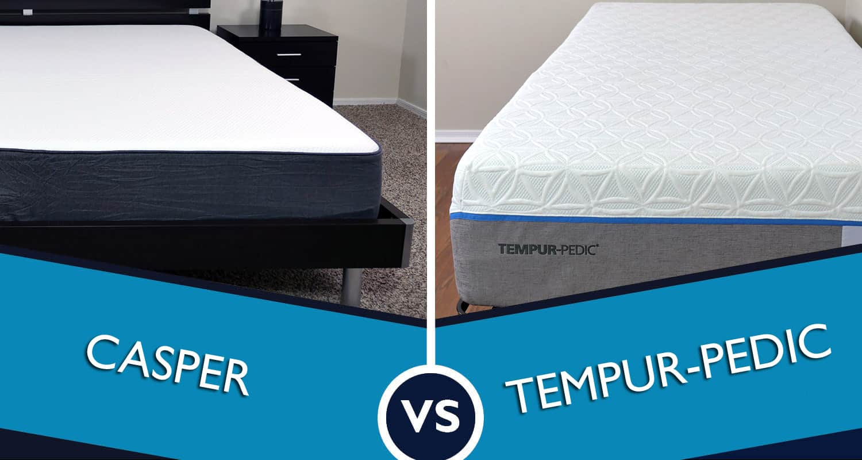 Casper vs Tempurpedic Mattress Review  Sleepopolis