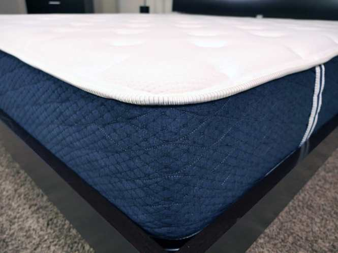 Close Up Shot Of The Brooklyn Bedding Mattress Cover