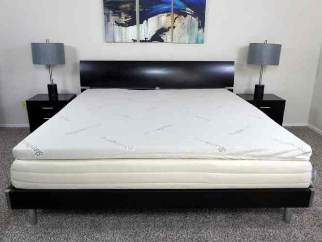 Sleeponlatex Natural Latex 2 Mattress Topper King Size