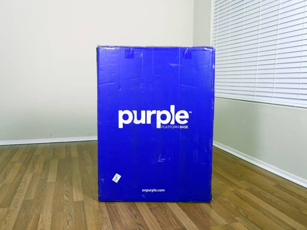 Purple Platform Bed Frame Review Sleepopolis