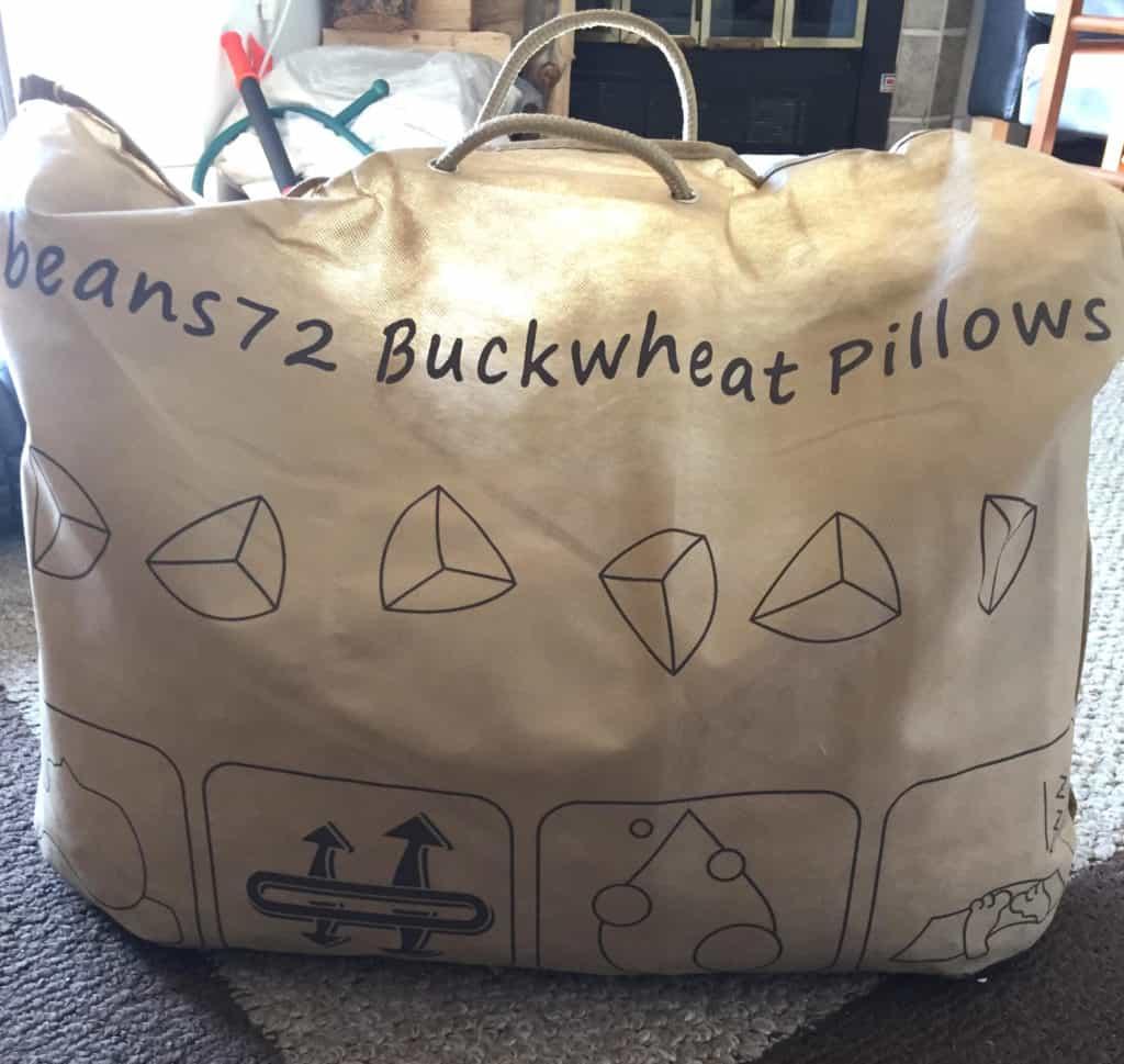 beans72 organic buckwheat pillow review