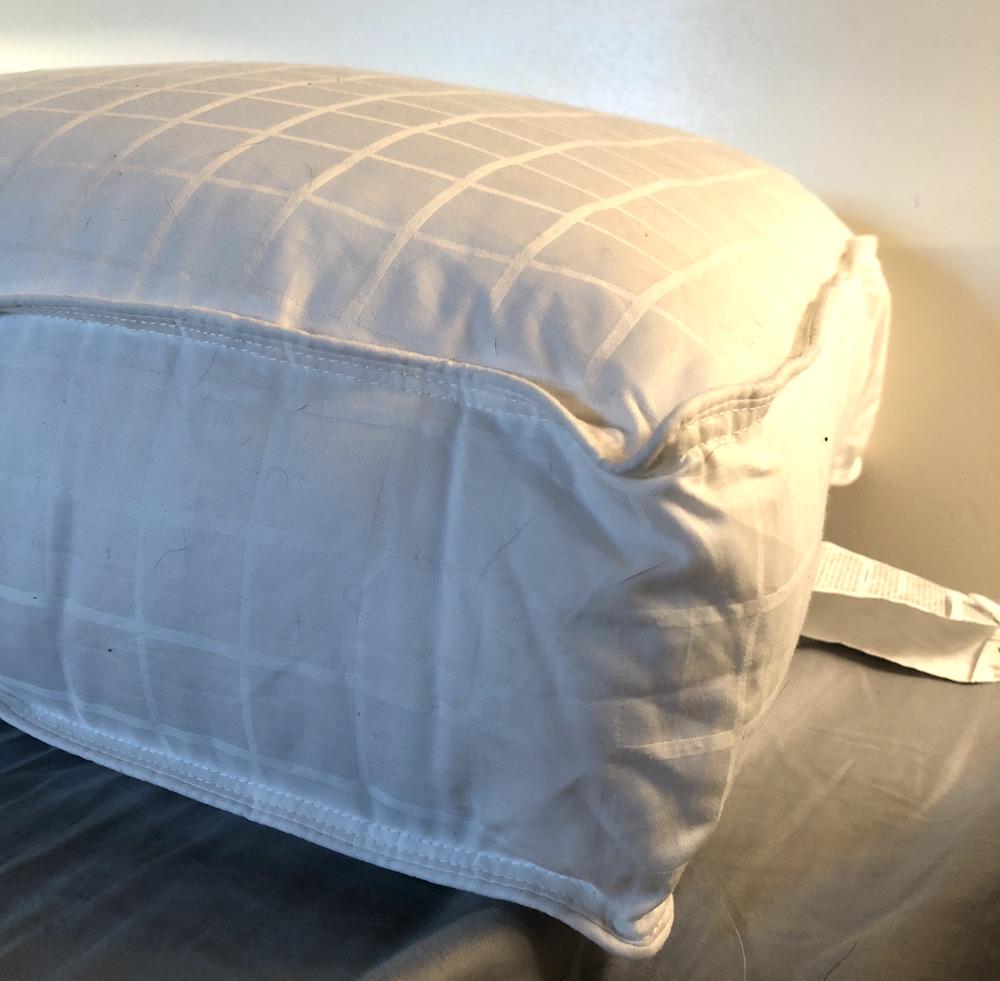 beyond down gel fiber side sleeper