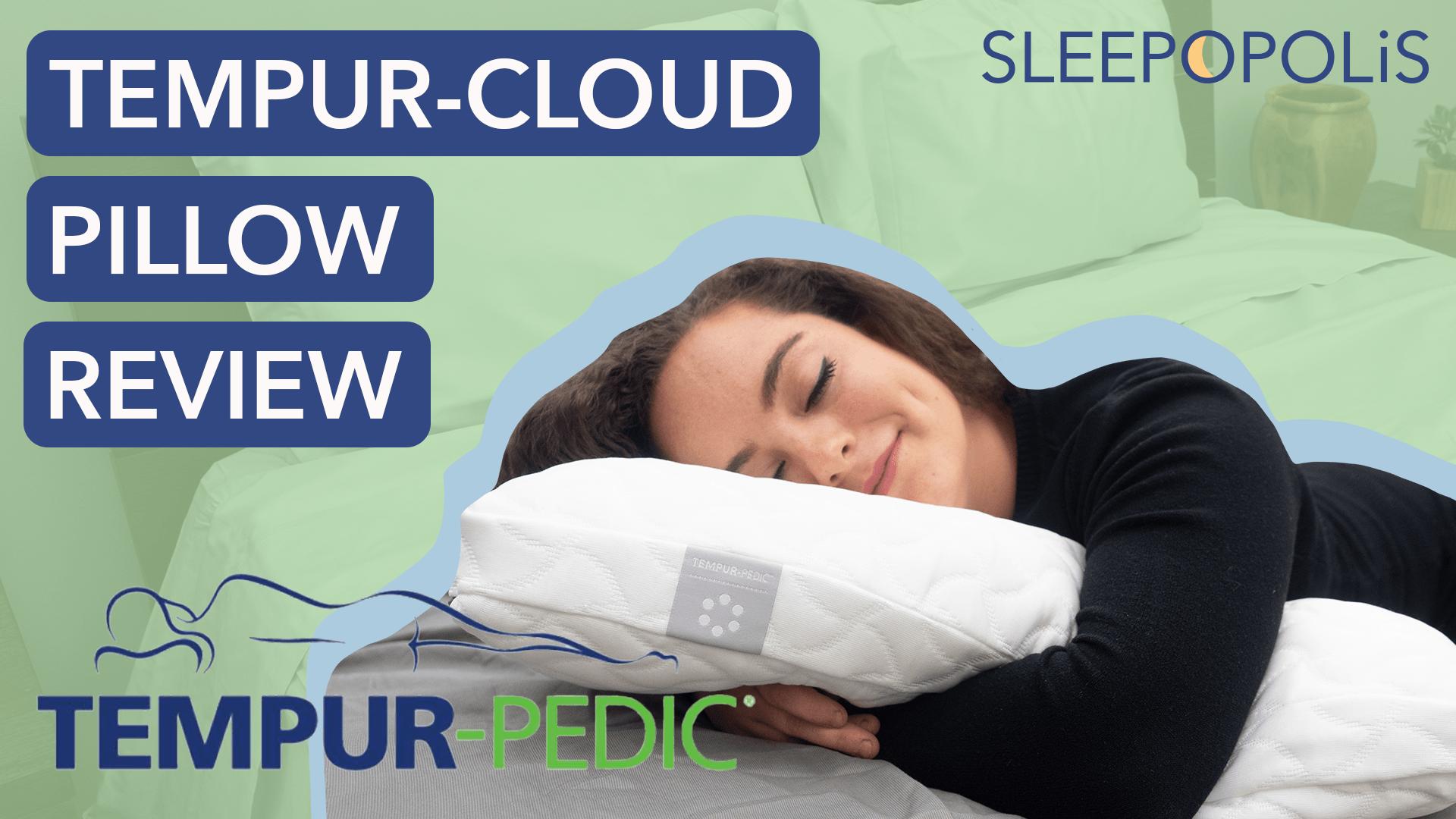 tempur cloud pillow review 2021
