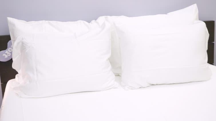 pillow guy bedding review sleepopolis