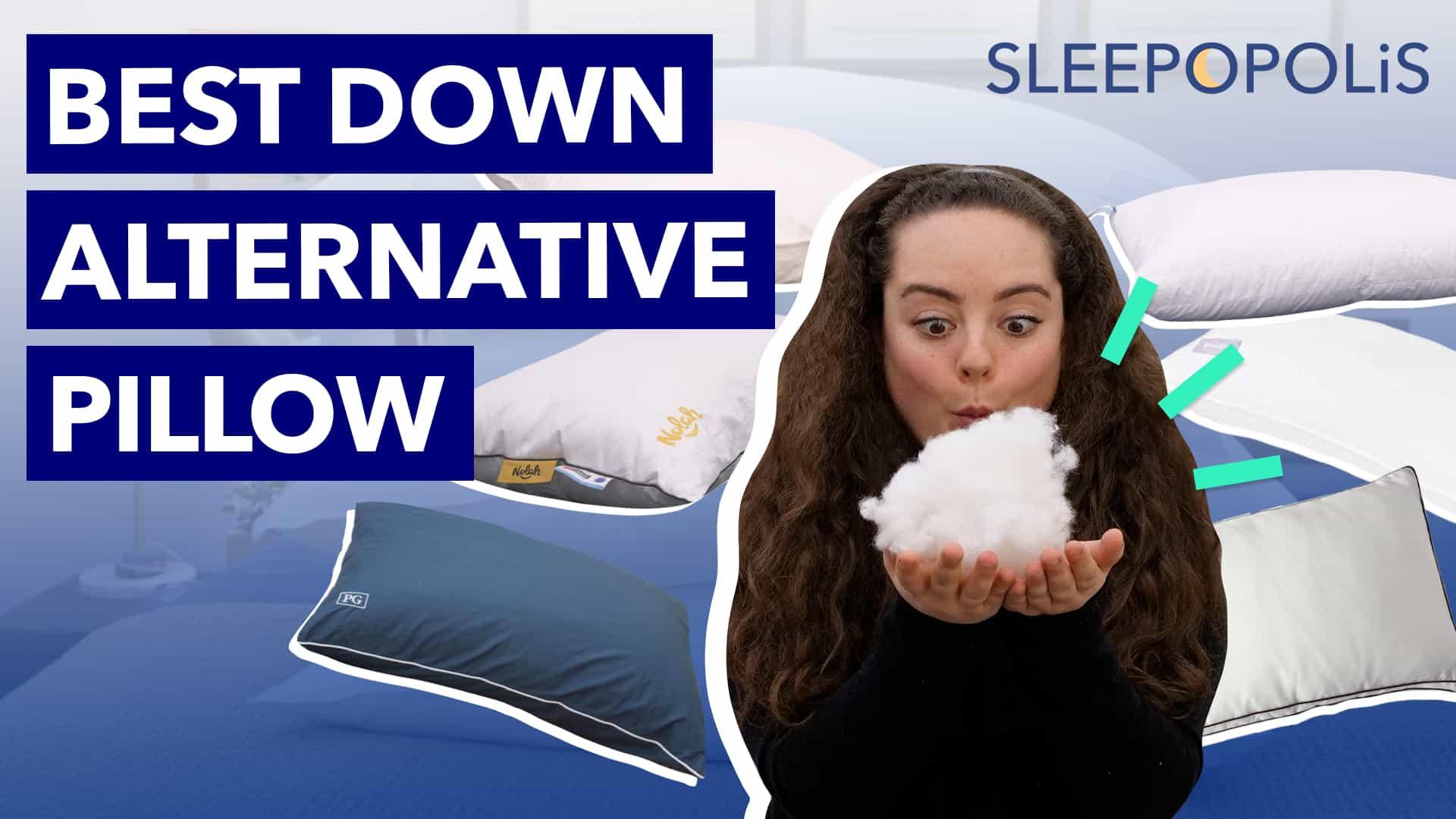 best down alternative pillows 2021