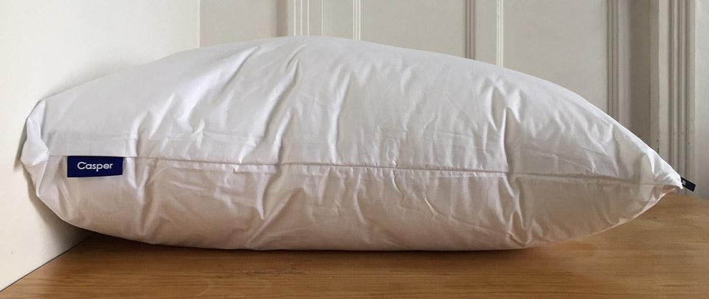 oreiller Casper coté