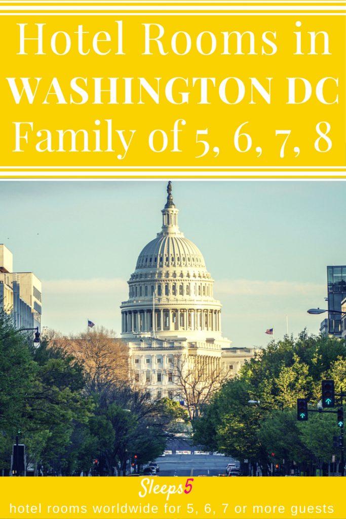 Maps Of Hotels In Washington Dc : hotels, washington, Washington, Hotel, Family, Rooms, People