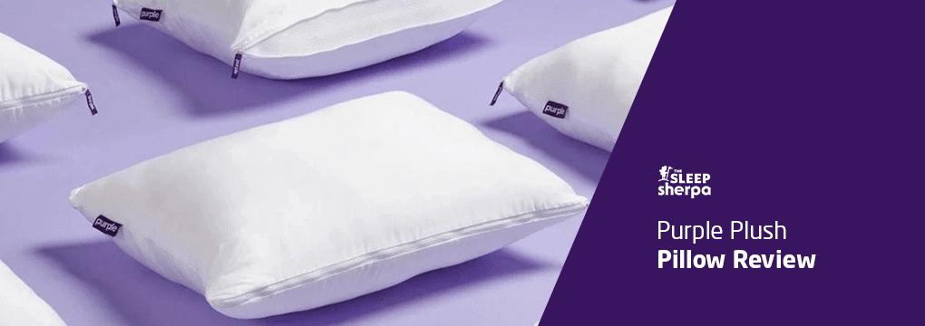 purple plush pillow review