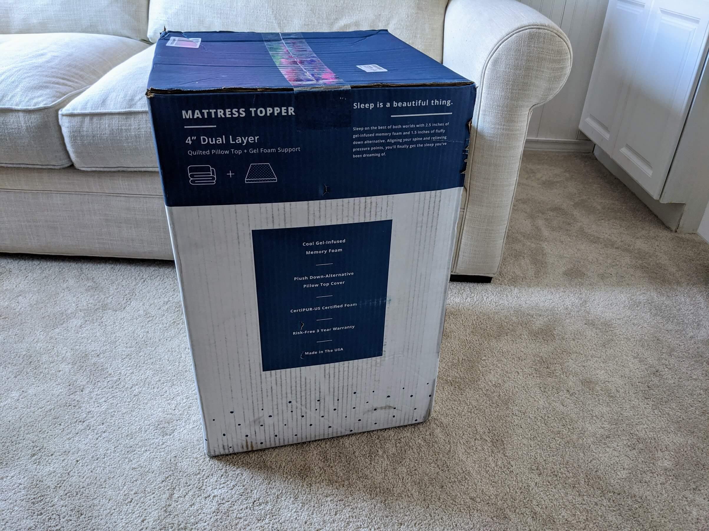viscosoft serene foam mattress topper