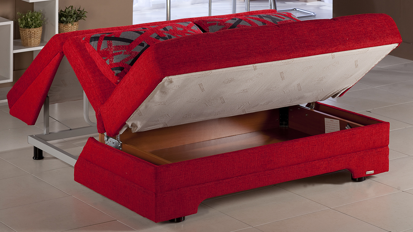 Shop for small sofas & sofa beds from our furniture & lights range at john lewis & partners. Twist Story Red Sofa Bed   Sleepworks
