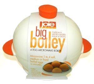 MSC International Egghead Microwave Egg Boiler – Boiley – 4 eggs