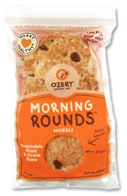 Ozery Bakery Morning Rounds Muesli Pita Bread, 12.7 Ounce – 6 per pack — 6 packs per case.