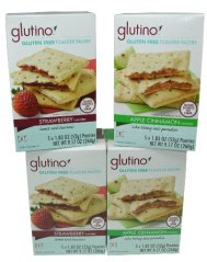 Glutino Gluten Free Toaster Pastries Variety Pack of 4 (9.17 Oz each)