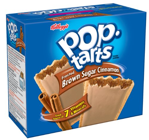 Pop-Tarts, Frosted Brown Sugar Cinnamon, 12-Count Tarts (Pack of 12)