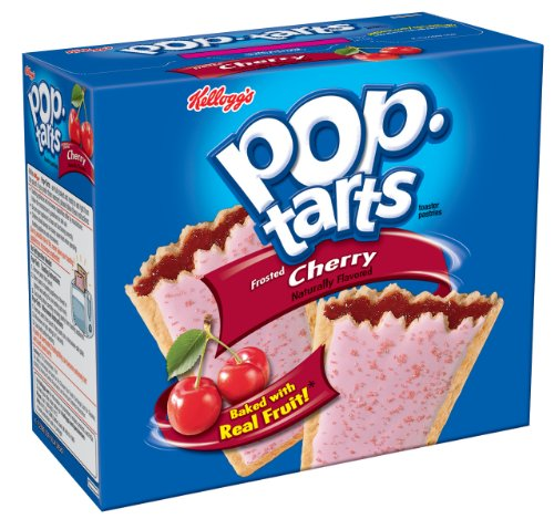 Pop-Tarts, Frosted Cherry, 12-Count Tarts (Pack of 12)