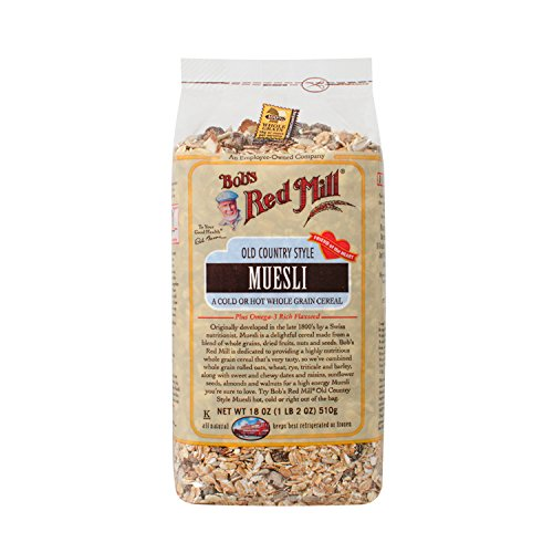 Bob's Red Mill Cereal Muesli,  4 – 18-Ounce Bags