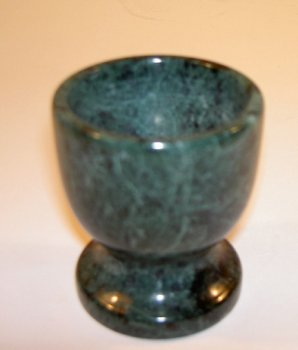 Evco Green Marble Collection Egg Cup