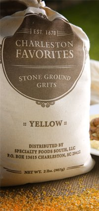 Charleston Favorites Stone Ground Grits – Yellow 2 Lbs