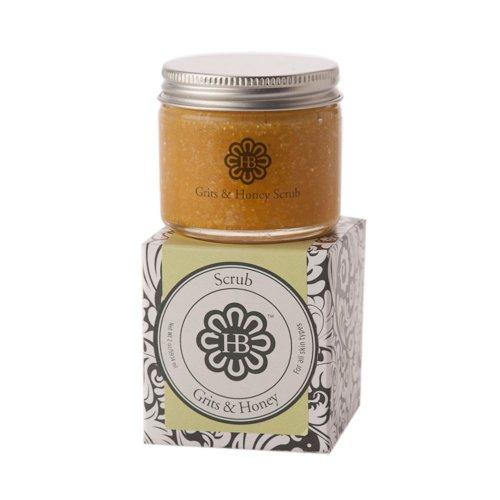 HollyBeth Organics – Grits & Honey Face Scrub