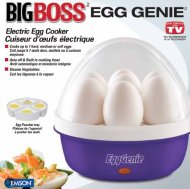 Big Boss 8864 Genie Electric Egg Cooker, Purple