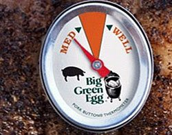 Big Green Egg Pork Button Thermometer