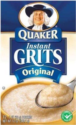 Quaker Instant Grits – Original, 12 Oz