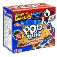 Kellogg's Pop Tarts Strawberry, 22 oz