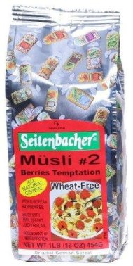 Berries Temptation Wheat-Free Muesli (Musli #2) – 16oz [Pack of 1]