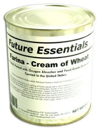 Farina/ Creamy Wheat Breakfast Cereal #10 Can