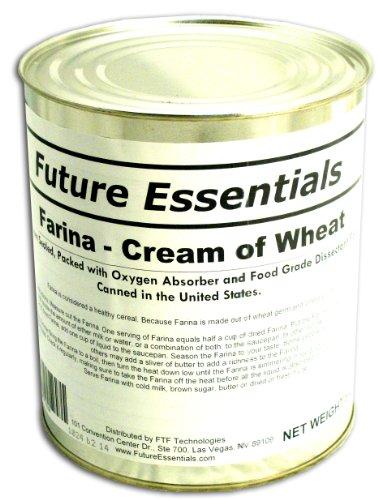 Farina/ Creamy Wheat Breakfast Cereal #10 Can