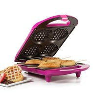 Holstein Housewares HF-09031M Heart Waffle Maker, Magenta