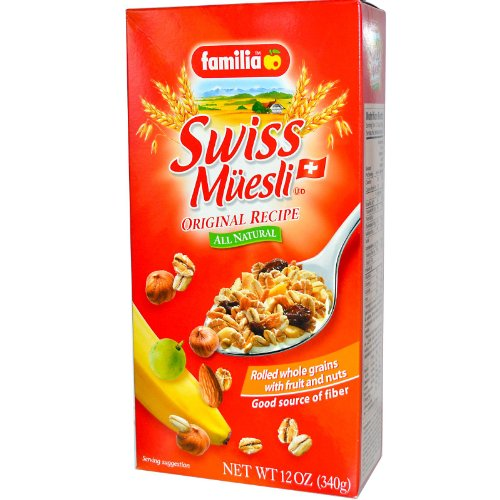 Familia Muesli Swiss Original 12 oz. (Pack of 12)