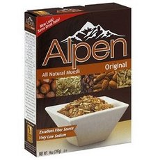 Simply Organic B62216 Weetabix Alpen All Natural Muesli Cereal Original – 12x14Oz