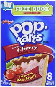 Kellogg's Pop-Tarts Frosted Cherry Toaster Pastries 8 ct