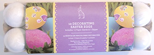 12 Decorating Easter Eggs