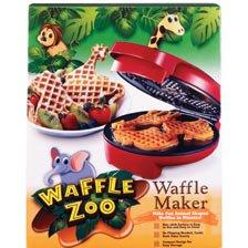 Waffle Zoo Waffle Maker – Make Fun Animal Shaped Waffle in Minutes