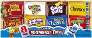 General Mills, Assorted Breakfast Cereal Pouches, 8 Count, 9.04oz Box (Pack of 2)