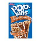 Kellogg's Pop-Tarts Frosted Chocolate Chip Cookie Dough Toaster Pastries 8 ct (Pack of 12)