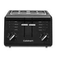 Cuisinart CPT-142BK 4-Slice Compact Toaster-Black