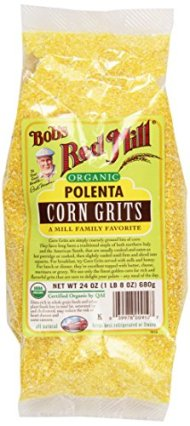 Bob's Red Mill Organic Corn Grits/Polenta, 24 oz, 2 pk