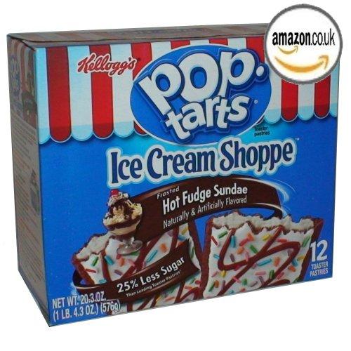 Kellogg's Pop-Tarts Toaster Pastries – Frosted Hot Fudge Sundae – 12 ct
