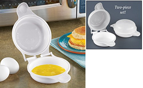 Microwave Breakfast Egg Cookers – Set Of 2
