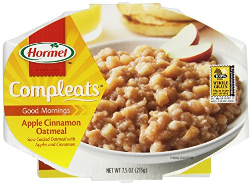 Hormel Compleats Good Mornings Apple Cinnamon Oatmeal Breakfast (Pack of 6)
