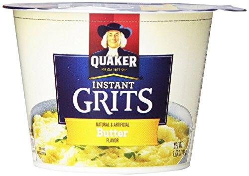 Quaker Grits Express Instant Butter Cup – 3 pk.