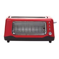 Dash DVTS501BK Clear View Toaster, Black