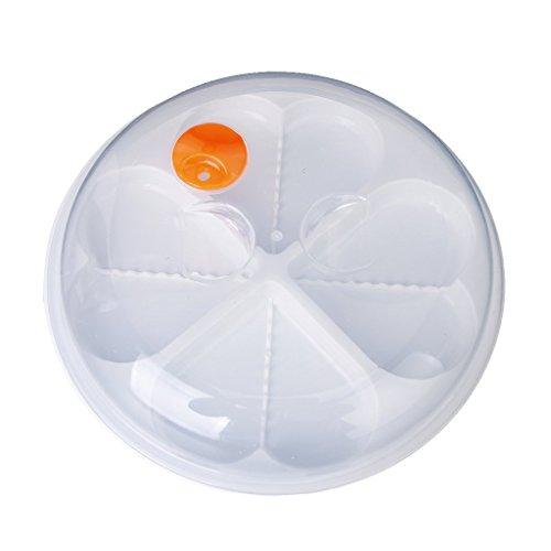 TOOGOO(R) Heart-Shape Microwave Egg Steamer Poacher Cooker