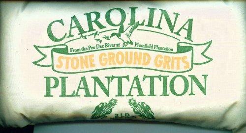 Carolina Plantation Stone Ground White Grits- 2 lb Bag
